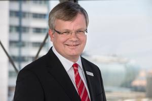 Peter Klett, Vorstandsvorsitzender der Weser-Elbe Sparkasse