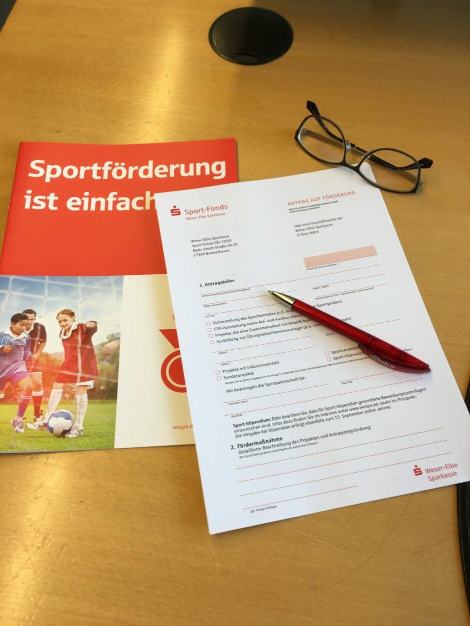 Sport-Fonds: Gefördert werden ist einfach