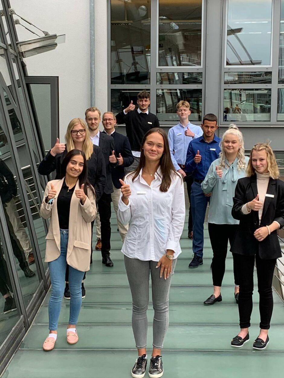 10 neue Auszubildende in der WESPA